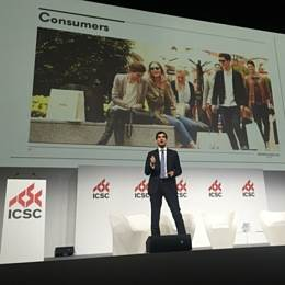 International council of shopping centers conference, milan, 19 april