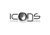 Brand logo for Icons Hair & Nails