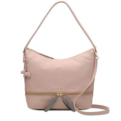 Pickering large zip-top shoulder bag