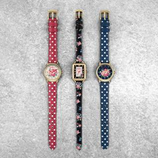 Step into spring with a floral Cath Kidston watch from Chapelle, all at least 30% off