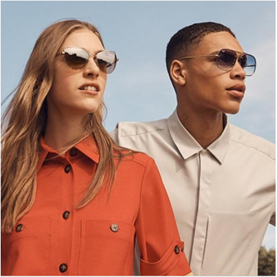 Pop into Sunglass Hut to get 40% off your second pair of sunglasses and up to 50% off of selected lines