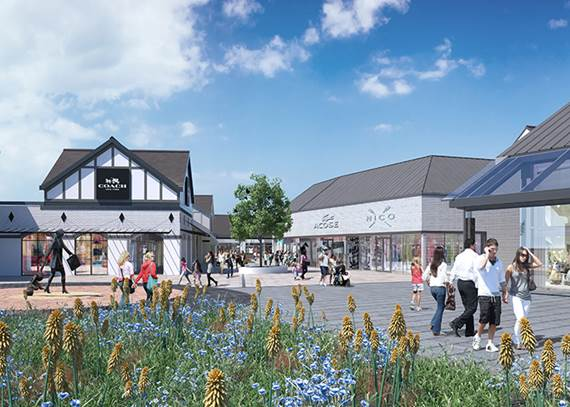 Cheshire oaks designer outlet announces start of construction on new phase