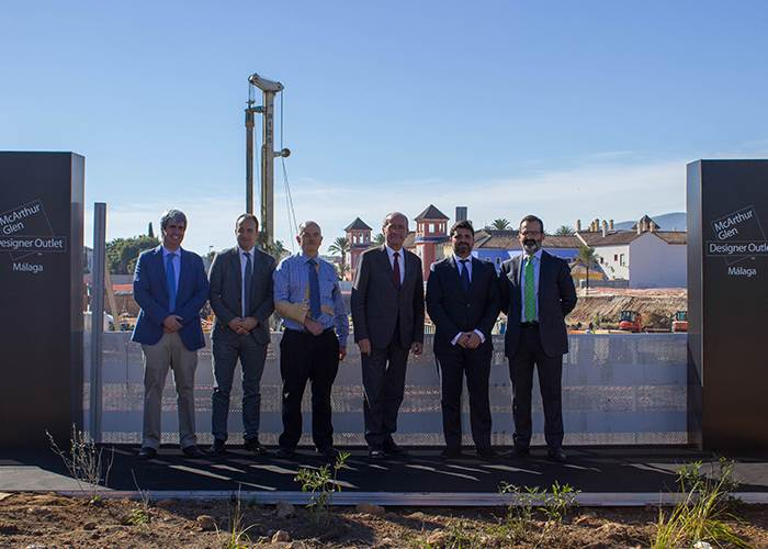 McArthurGlen and sonae sierra break ground on southern spain's first designer outlet