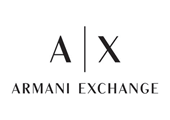 Brand logo for Armani Exchange