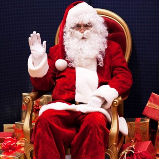 SANTA CLAUS IS COMING TO POLO RALPH LAUREN