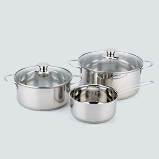 "Pot set ""Basic Line"" 3tlg., was € 69,90"