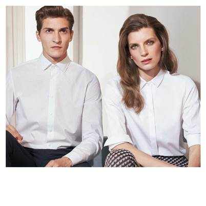 Up to 40% on the outlet price on shirts and blouses