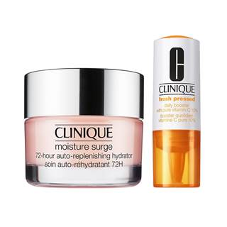 Receive the Clinique fresh pressed daily booster 5ml as free gift with your purchase of Clinique Moisture Surge 125ml, now for € 45, was € 60 (RRP)