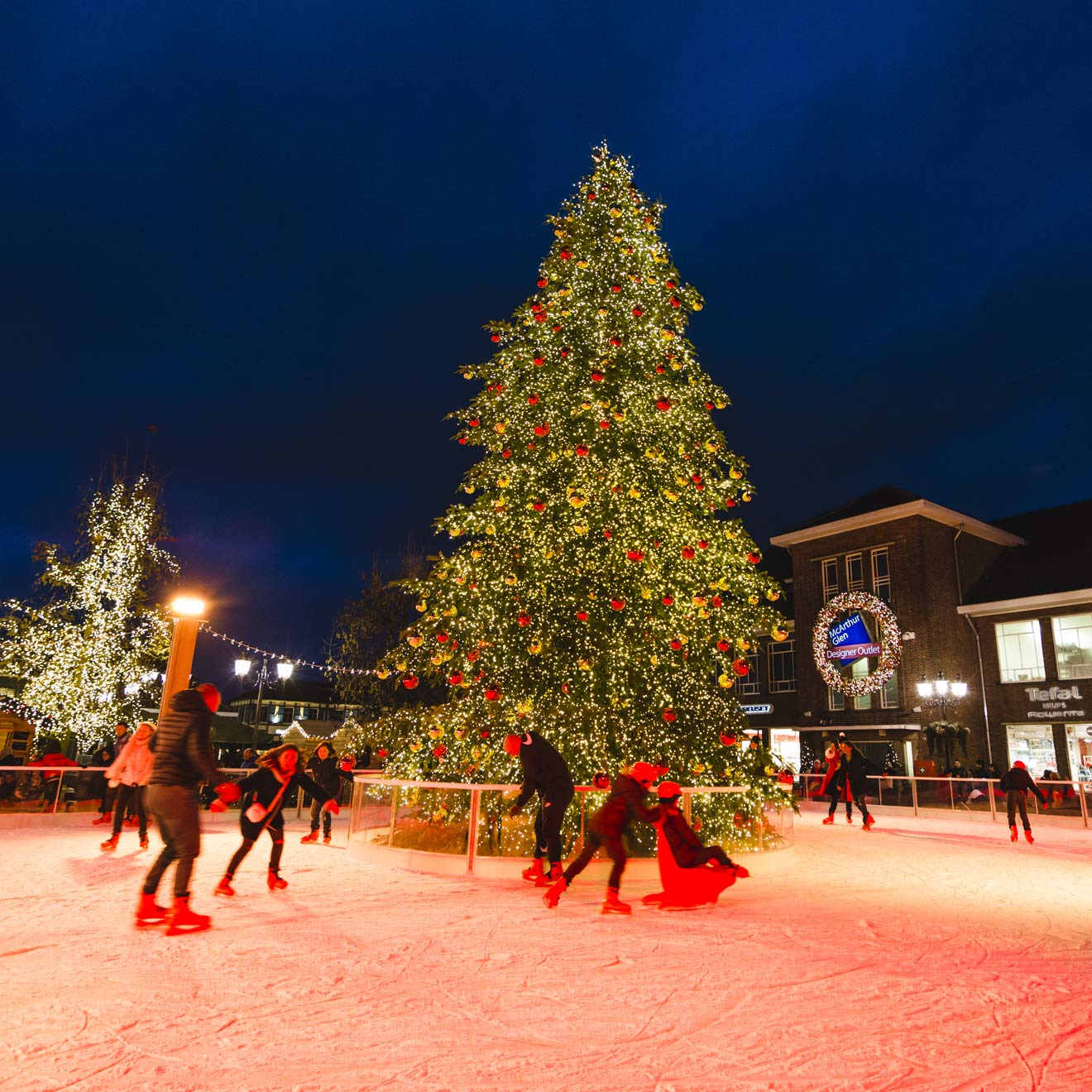 Winter im Designer Outlet Roermond