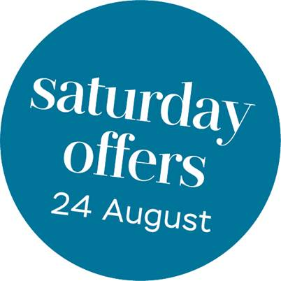 Discover all Saturday offers